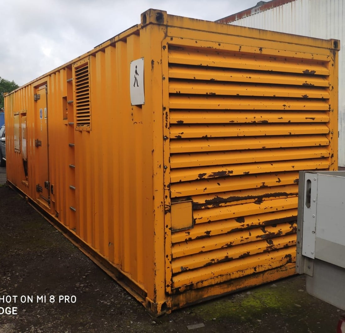 1400 kva F G Wilson Cummins/Stamford  KTA50-G3 30ft Acoustic Container