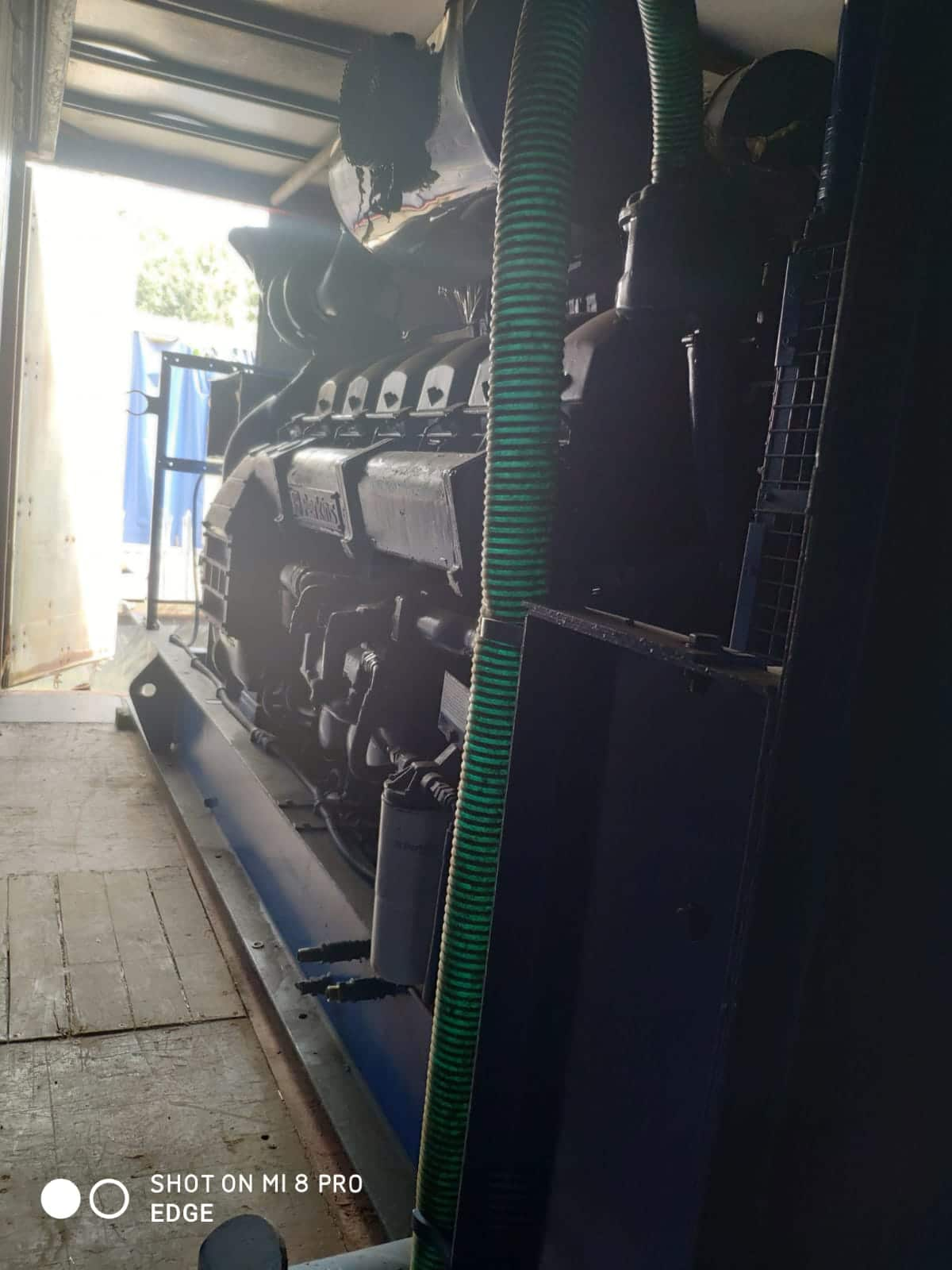 Used 1400 Kva Perkins/Stamford Open Type Generator