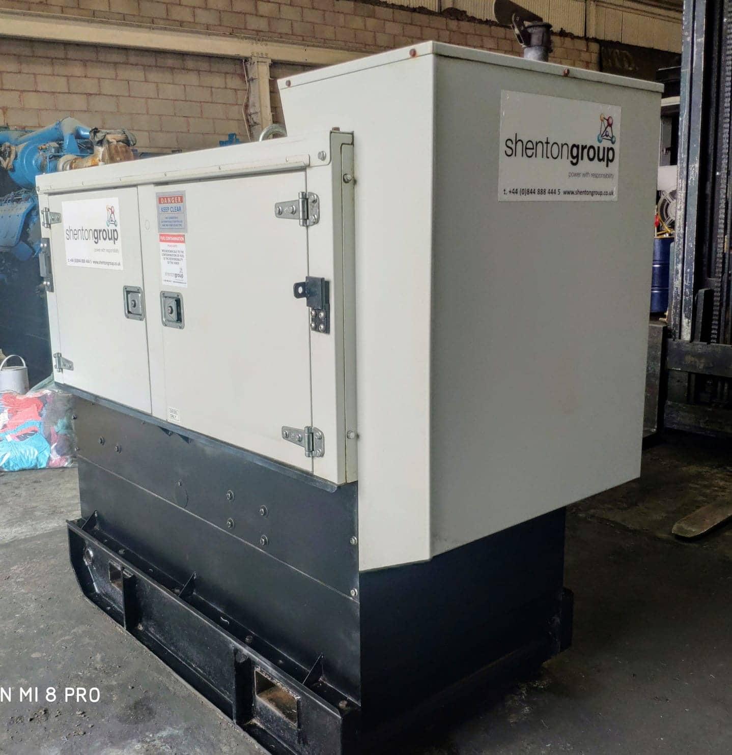 33 Kva Iveco MeccAlte Acoustic Generator