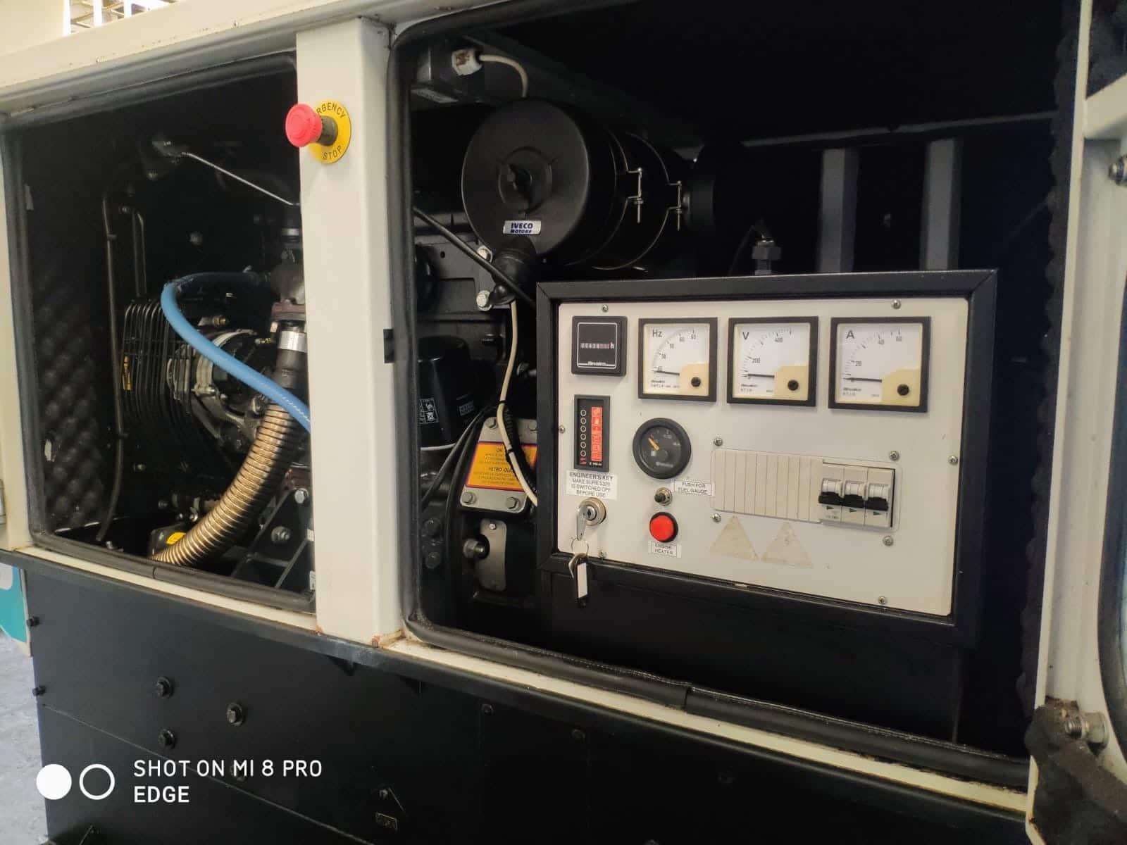 33 Kva Iveco MeccAlte Acoustic Generator 3