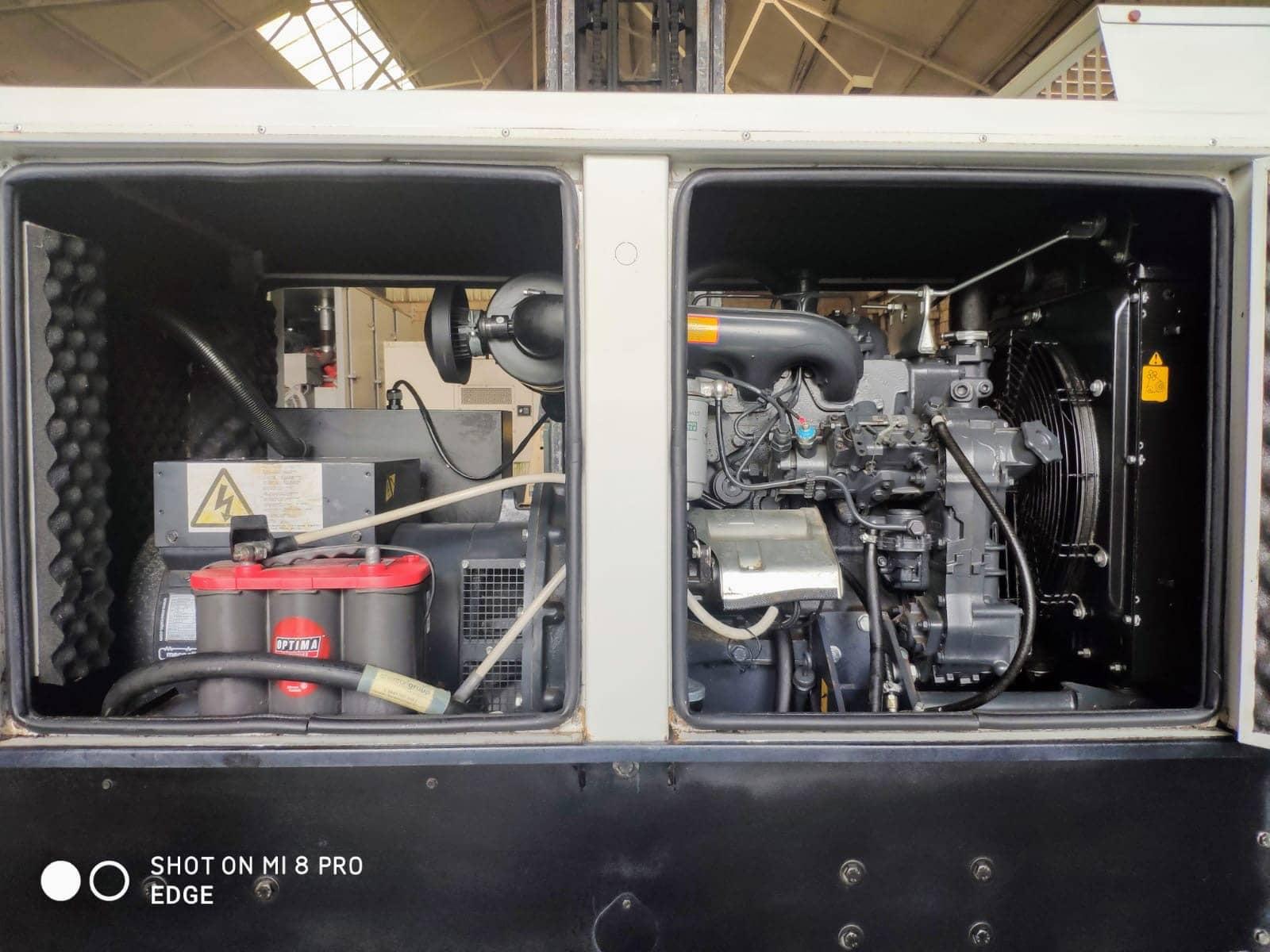 33 Kva Iveco MeccAlte Acoustic Generator 5