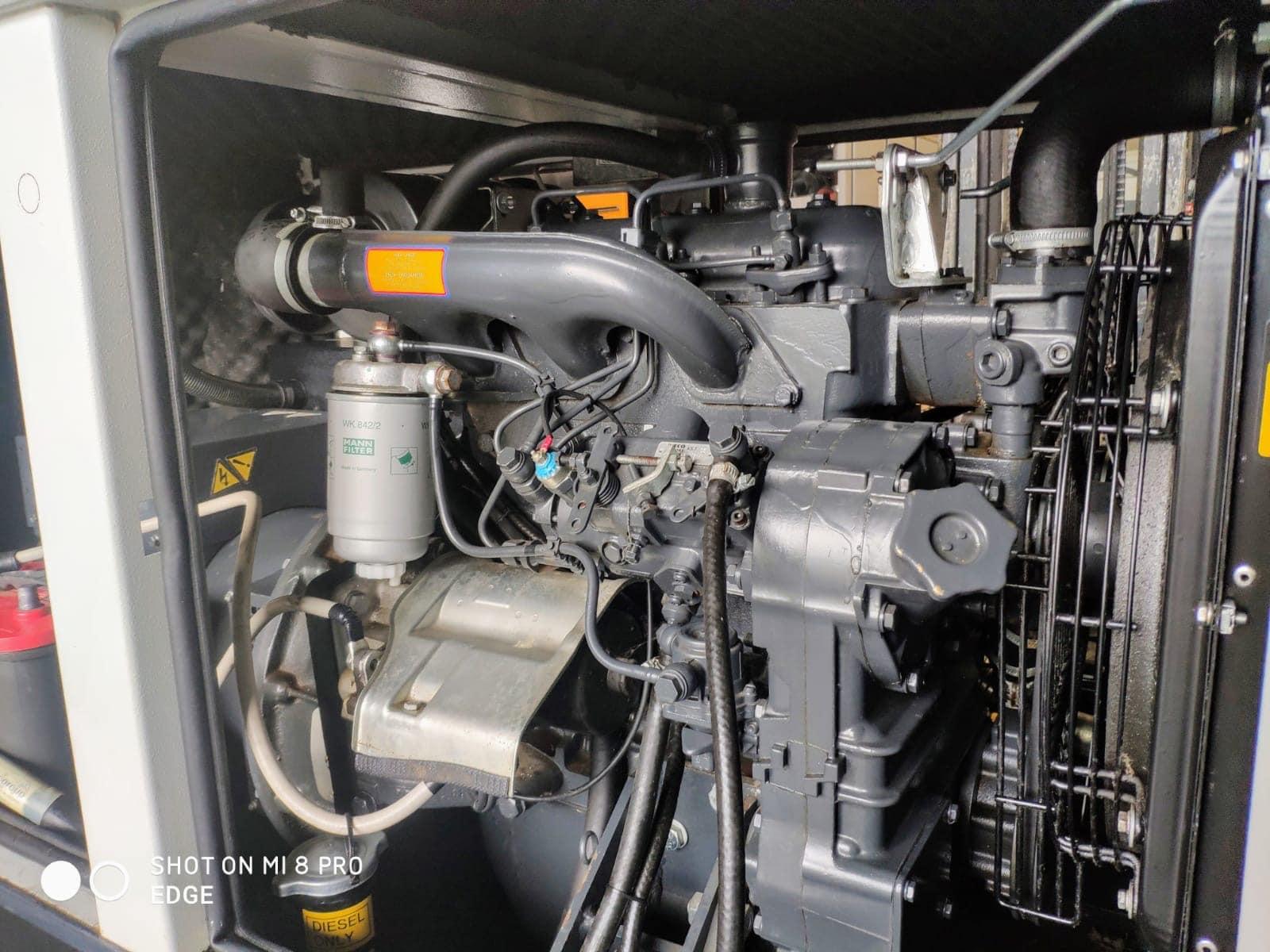 33 Kva Iveco MeccAlte Acoustic Generator 6