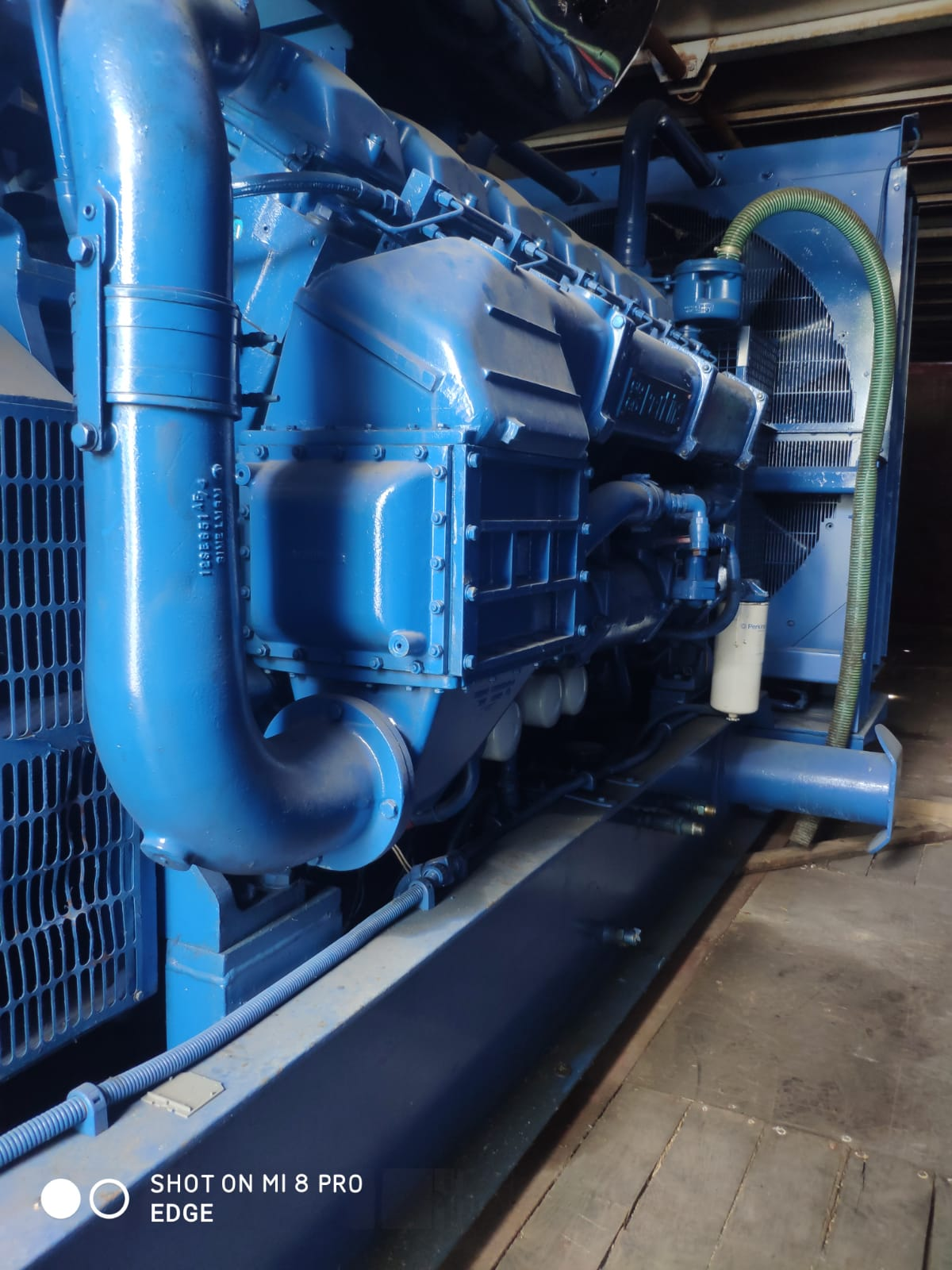 Used 1400 Kva Perkins/Stamford Open Type Generator for Sale 3