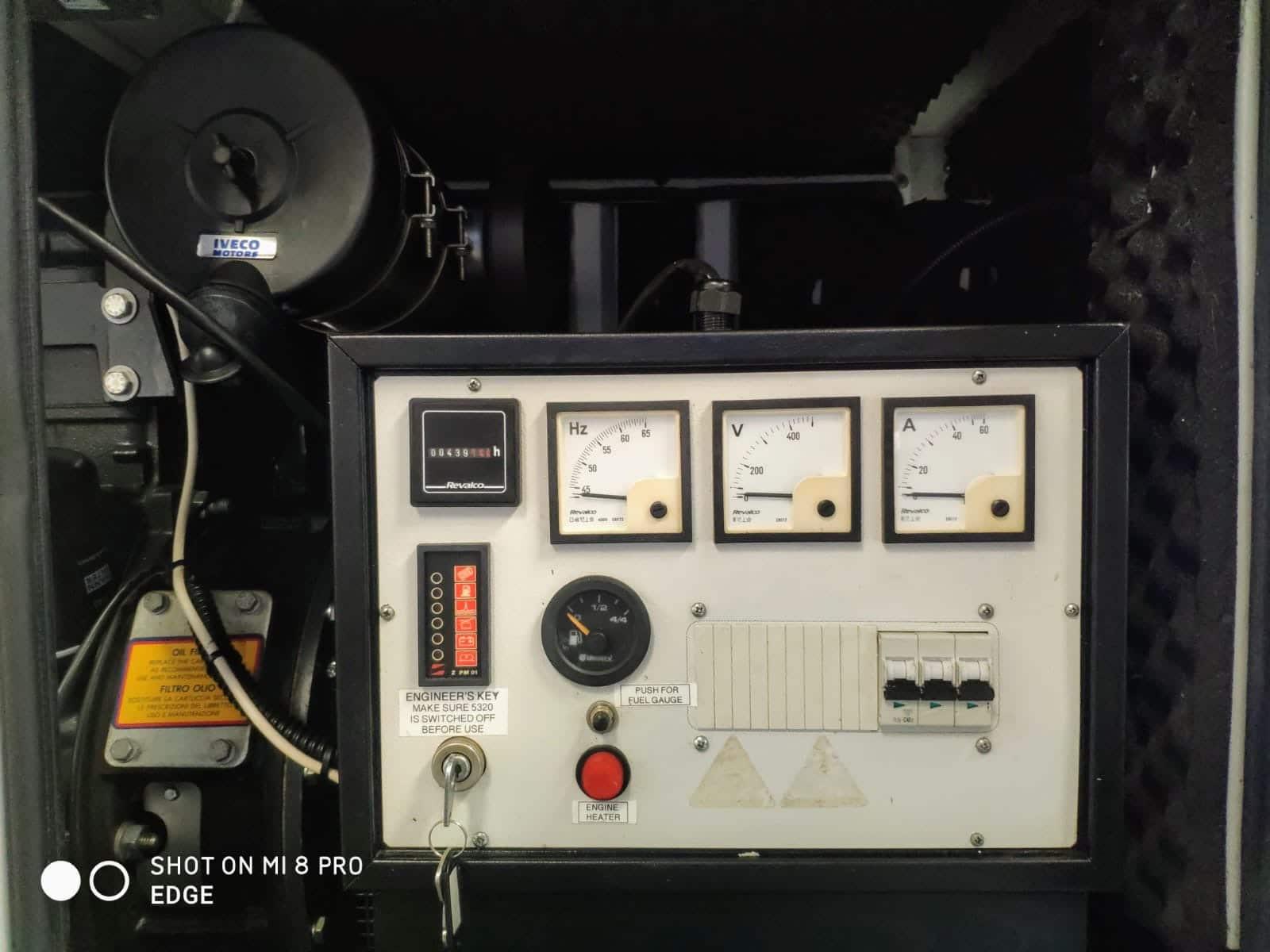 33 Kva Iveco MeccAlte Acoustic Generator 7