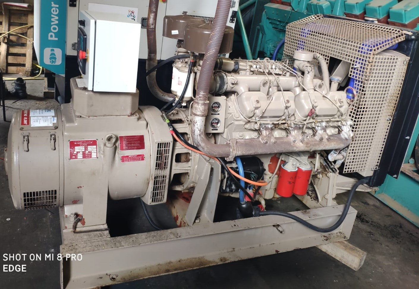 82 KVA Perkins Markon Open Type Generator 5