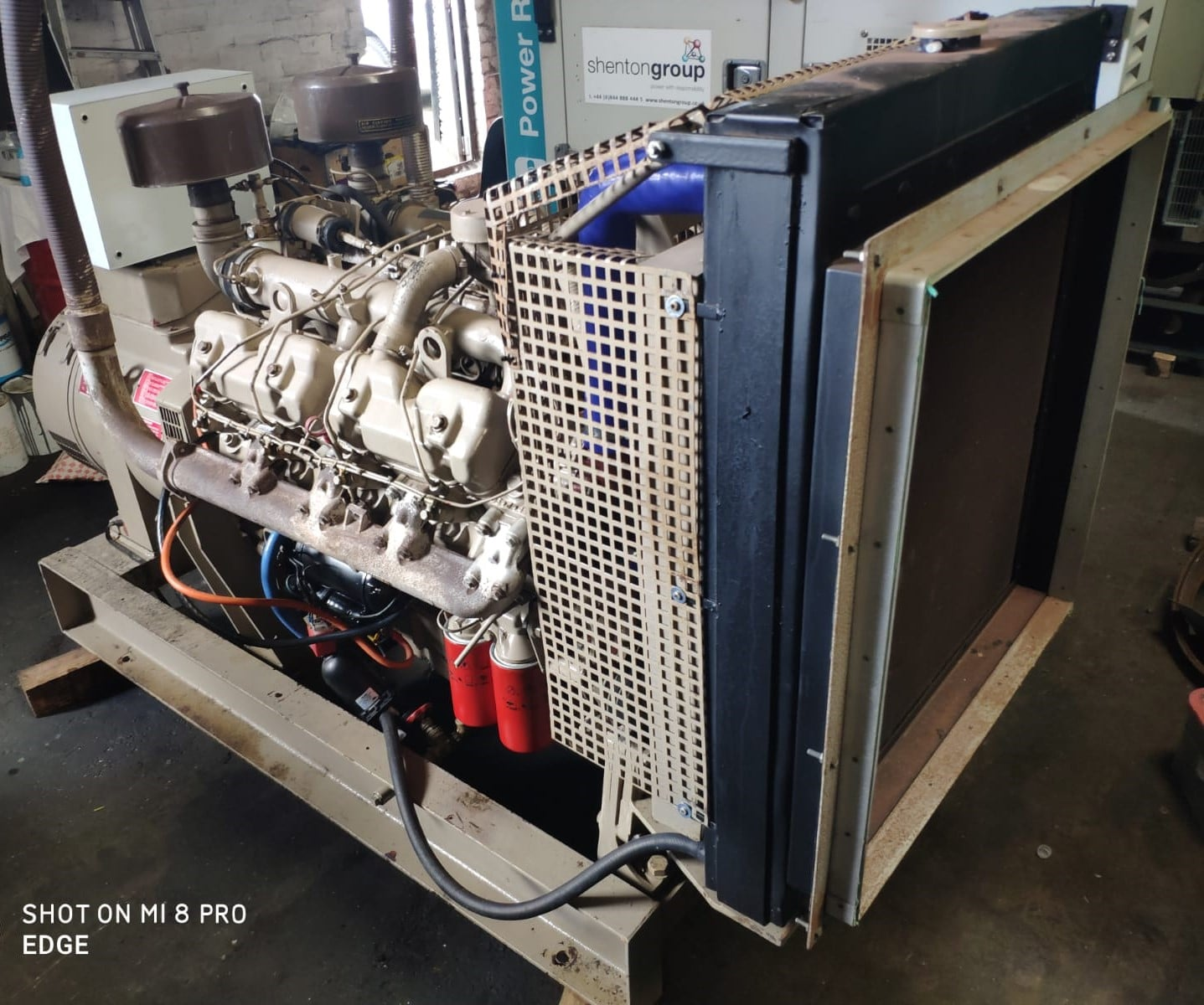82 KVA Perkins Markon Open Type Generator 6