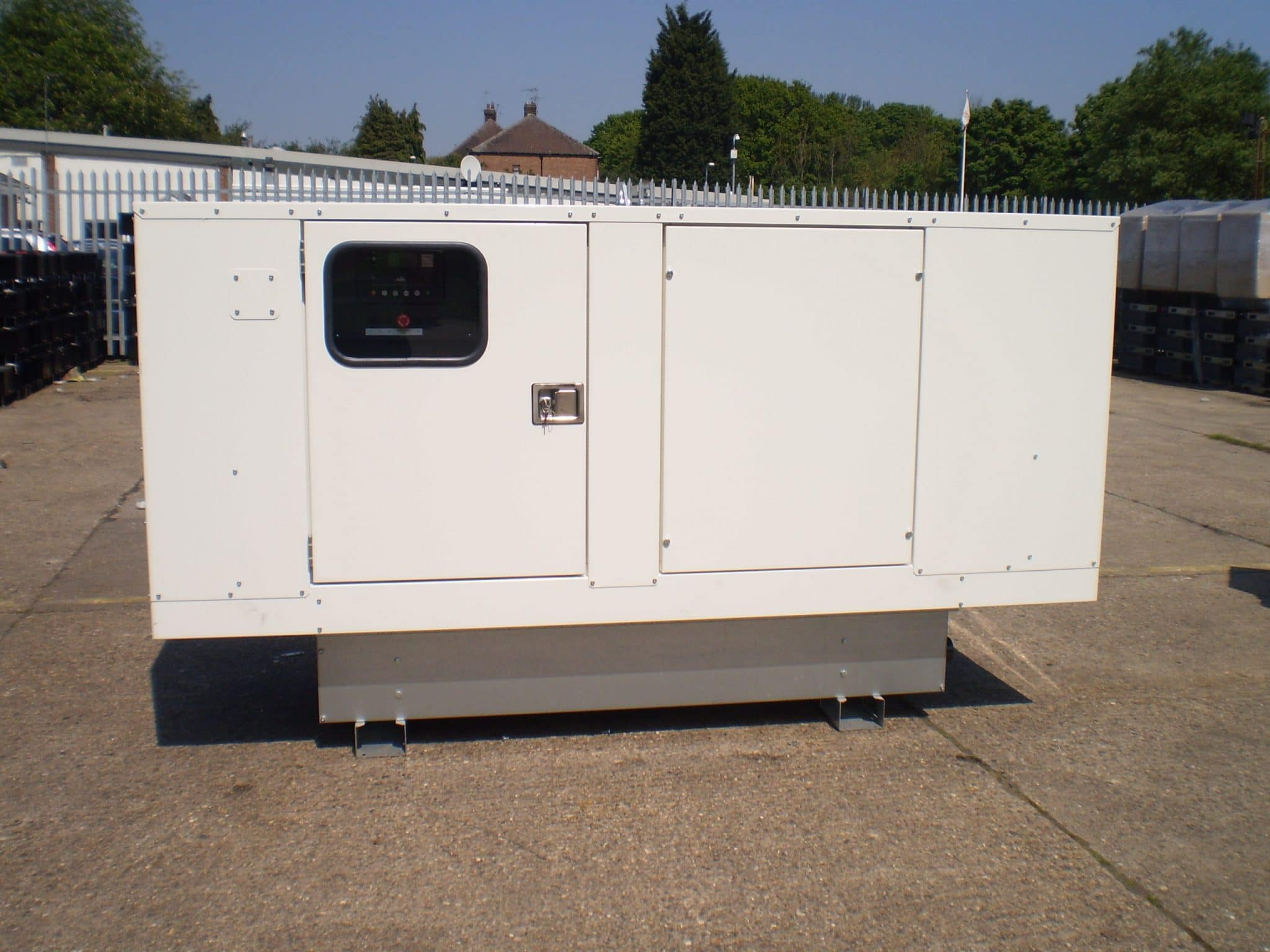 100 Kva Perkins Stamford Acoustic (Super Silent) Generator For Sale