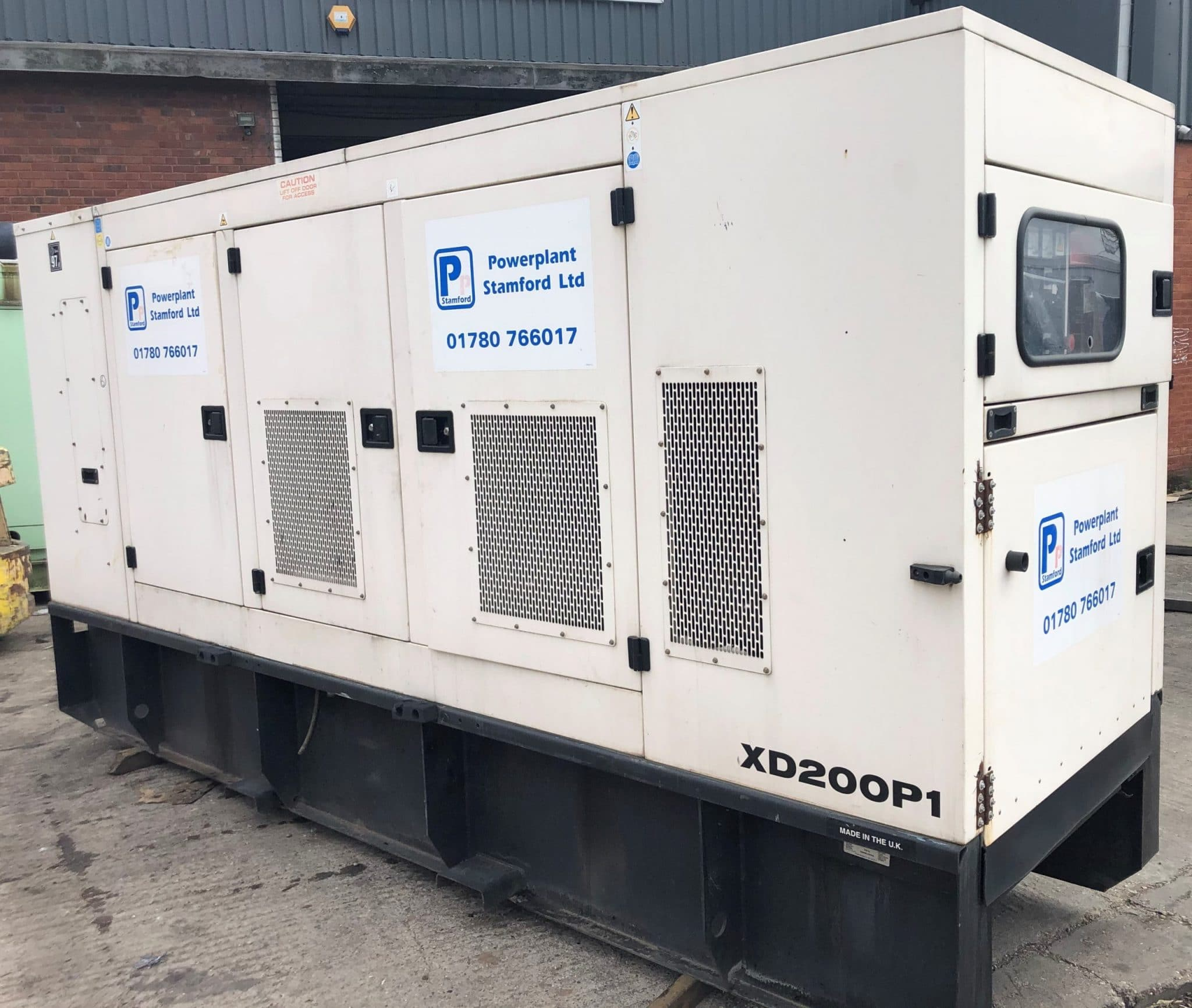 200 Kva FG Wilson Perkins/Leroy Acoustic (Rental Specs) Generator for sale