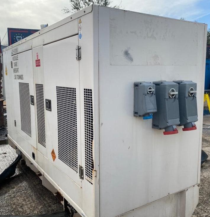 200 Kva FG Wilson Perkins/Leroy Somer Acoustic Generators