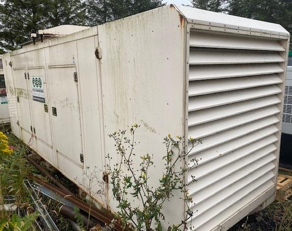 500 Kva FG Wilson Perkins/Stamford Acoustic Generator