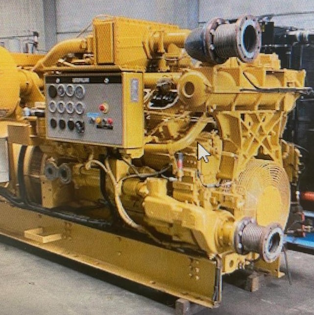 600 kva CAT 3508 STD Gas Generator for sale