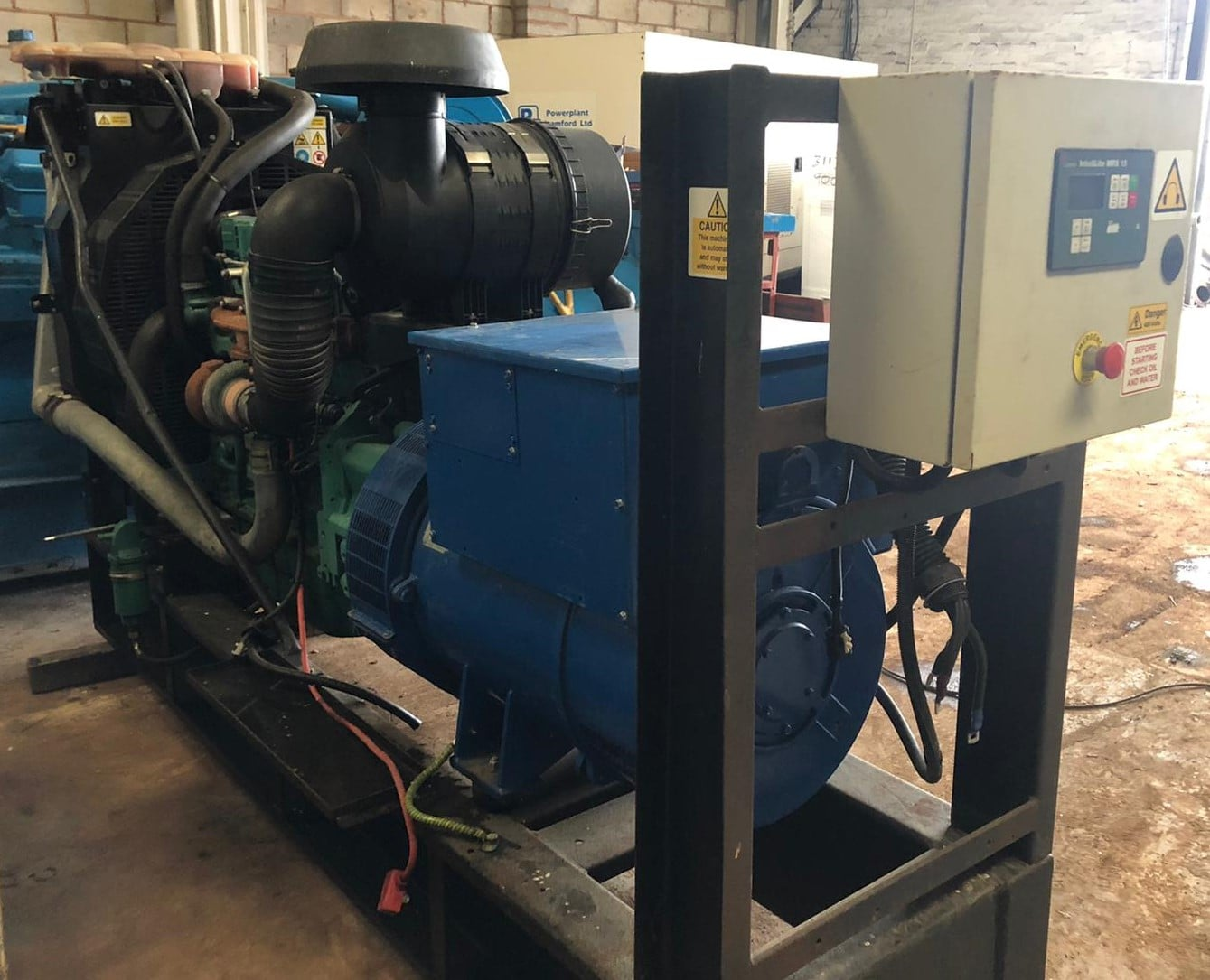 220 kva  Volvo/ Leroy Somer open type generator