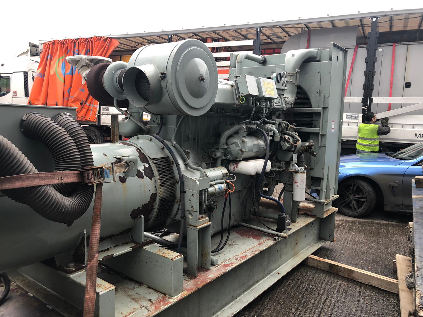 600  Kva Perkins/Marathon Open Type Generator