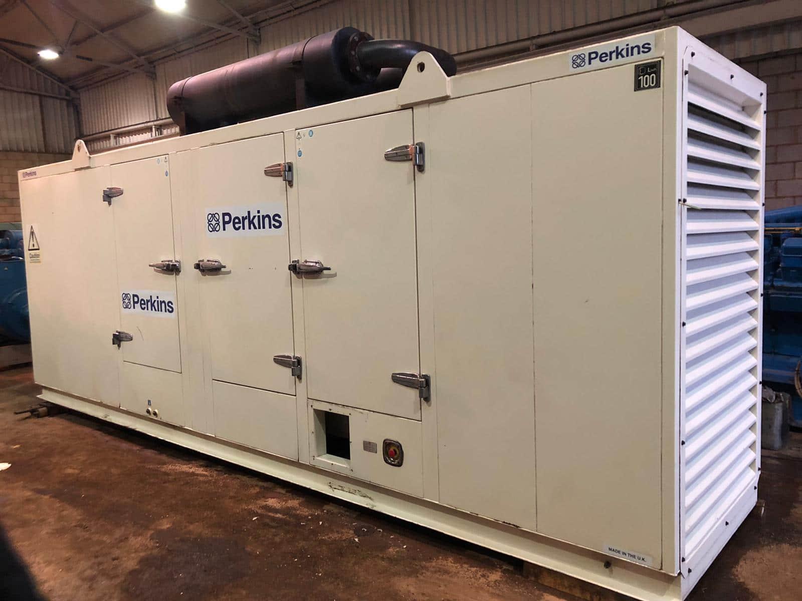 300  Kva F G Wilson Perkins/Stamford Super Silent Generator