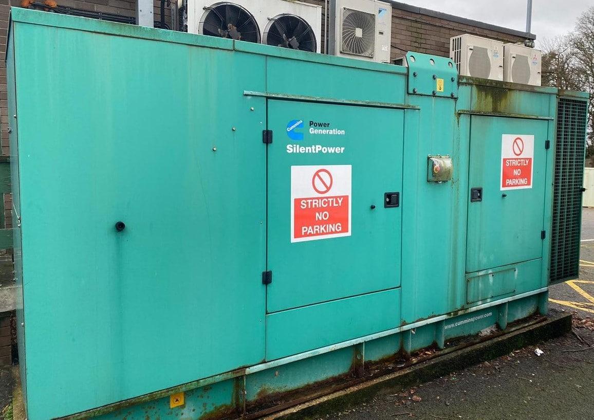 300 Kva  Cummins/Stamford Acoustic  generator