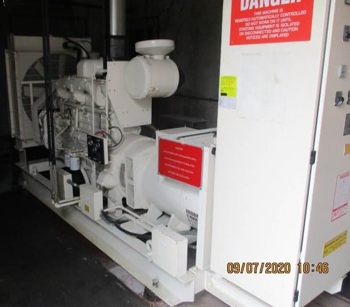 125 kva Cummins/Stamford Open Type set