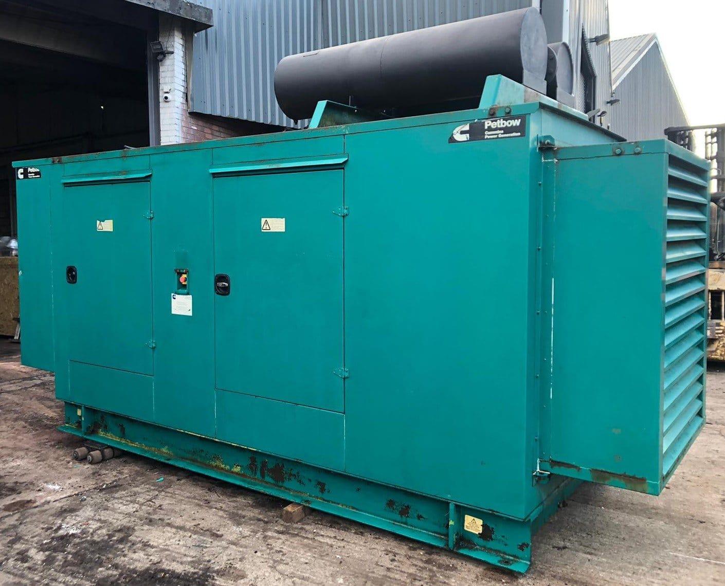 200 Kva  Cummins/Stamford Acoustic  generator