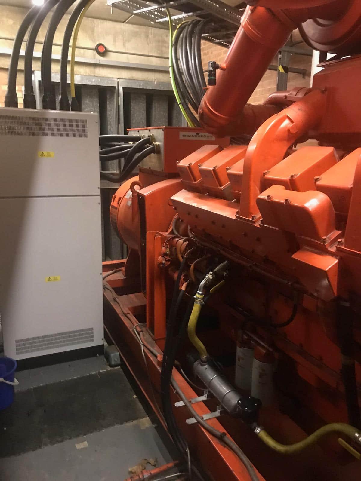 1000 kVA  Cummins KTA-50-G1 Open Type Set