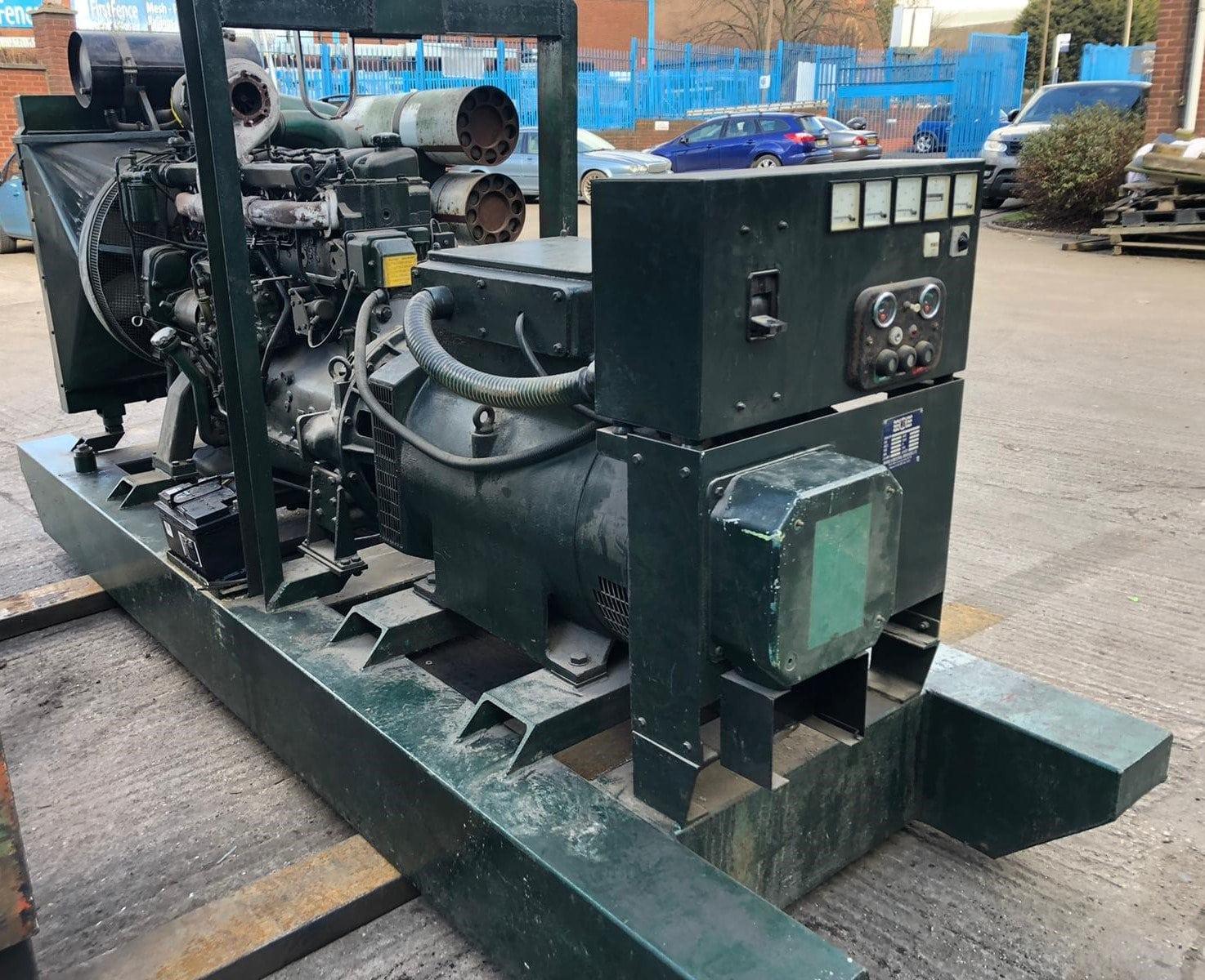 190 kva  Volvo/ Stamford open type generator