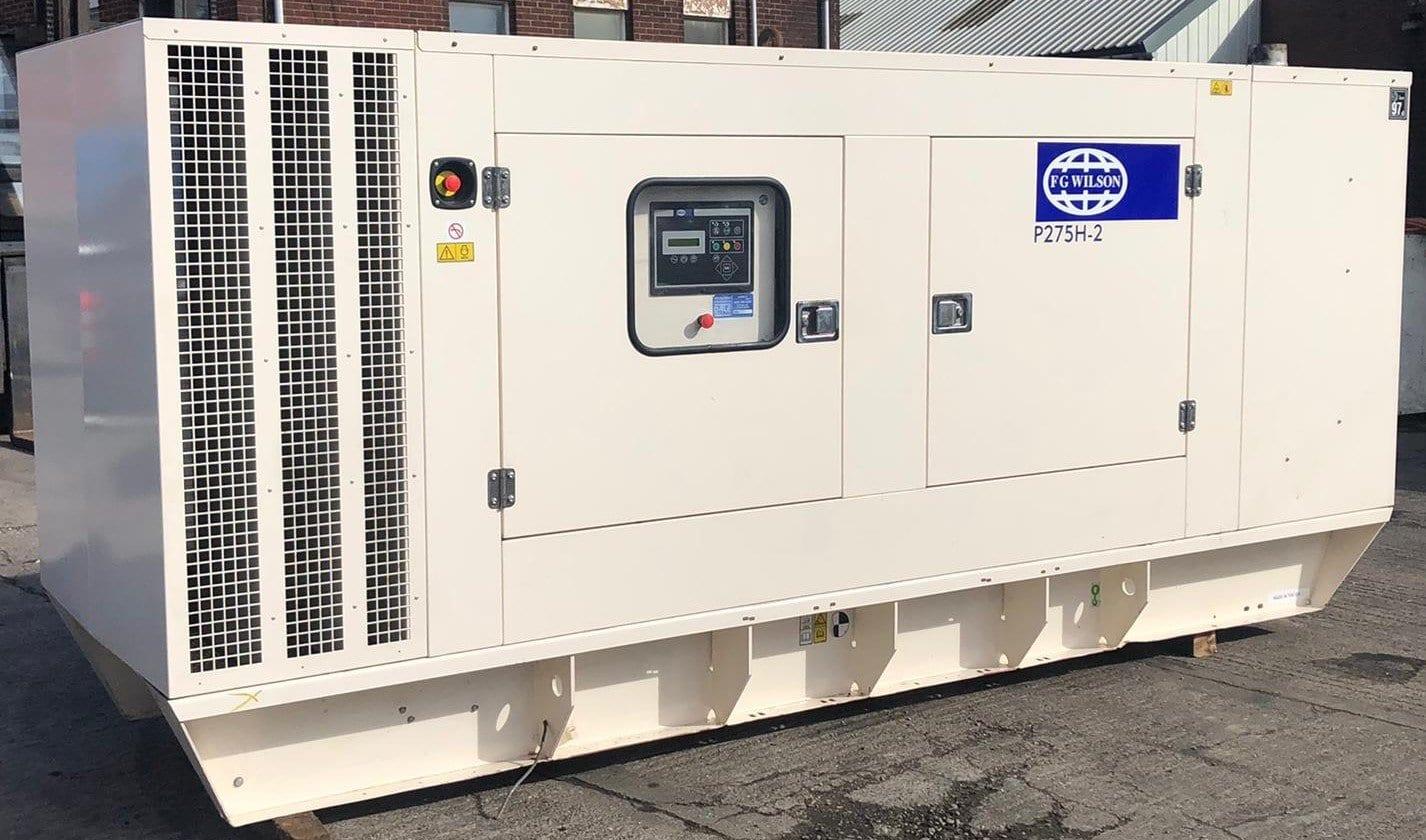 275 kVA Perkins Leroy FG Wilson Acoustic Generator