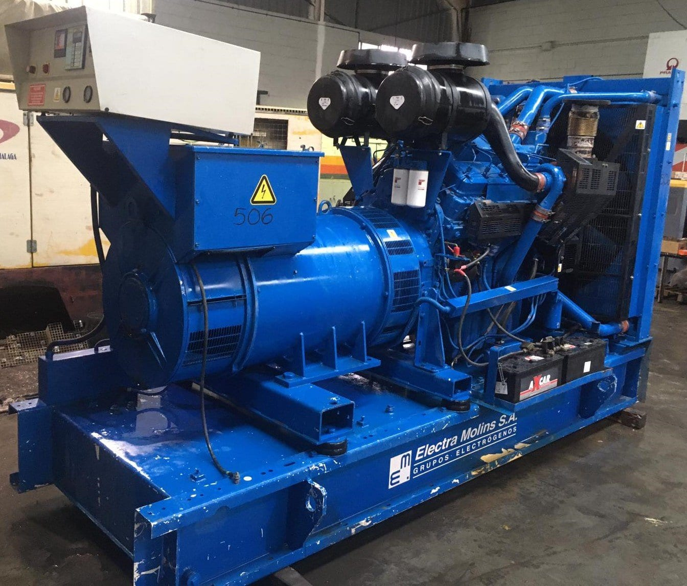 800 Kva  Perkins/Stamford Open Type Generators for Sale