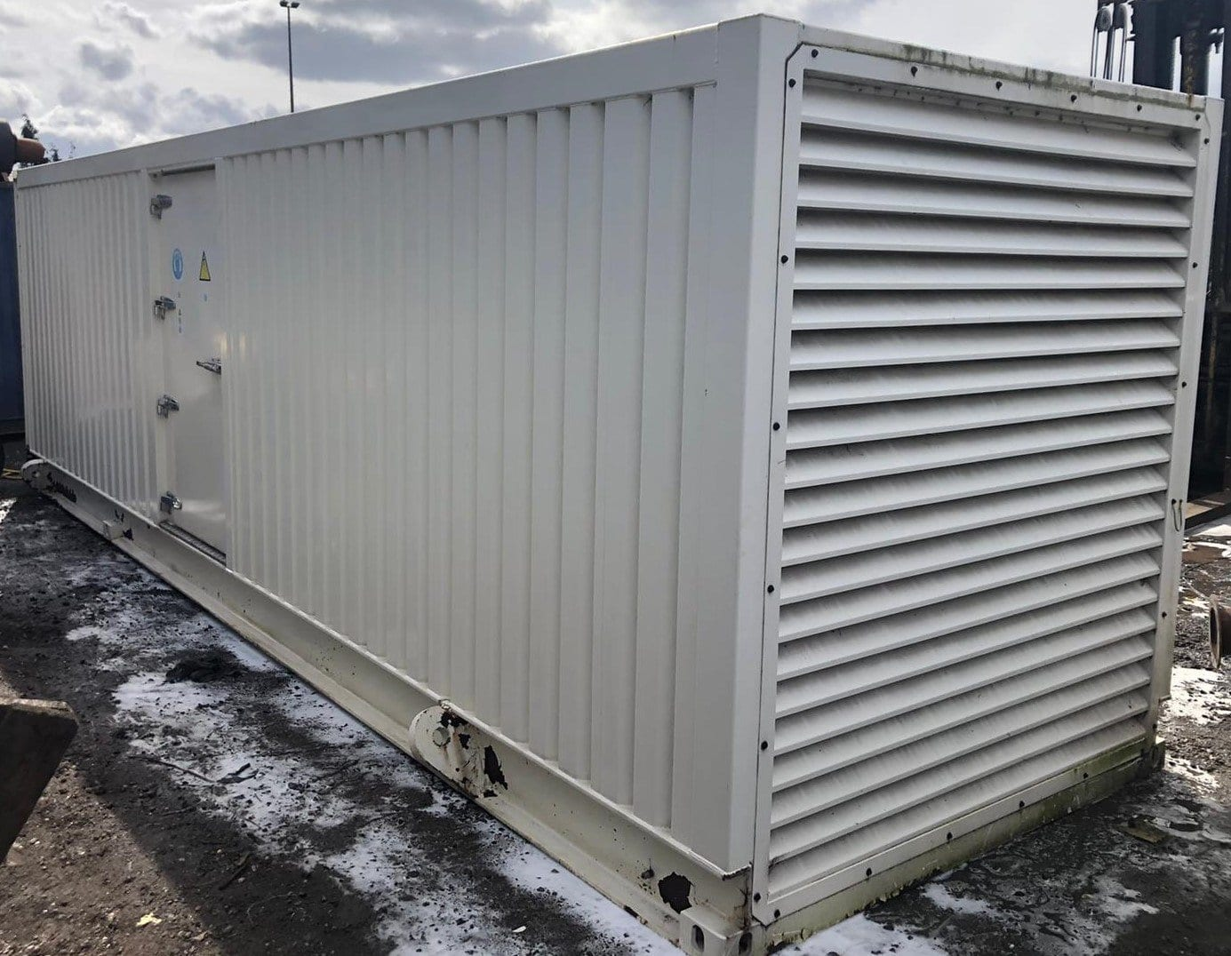 300  Kva F G Wilson Perkins/Stamford Super Silent Generator for Sale