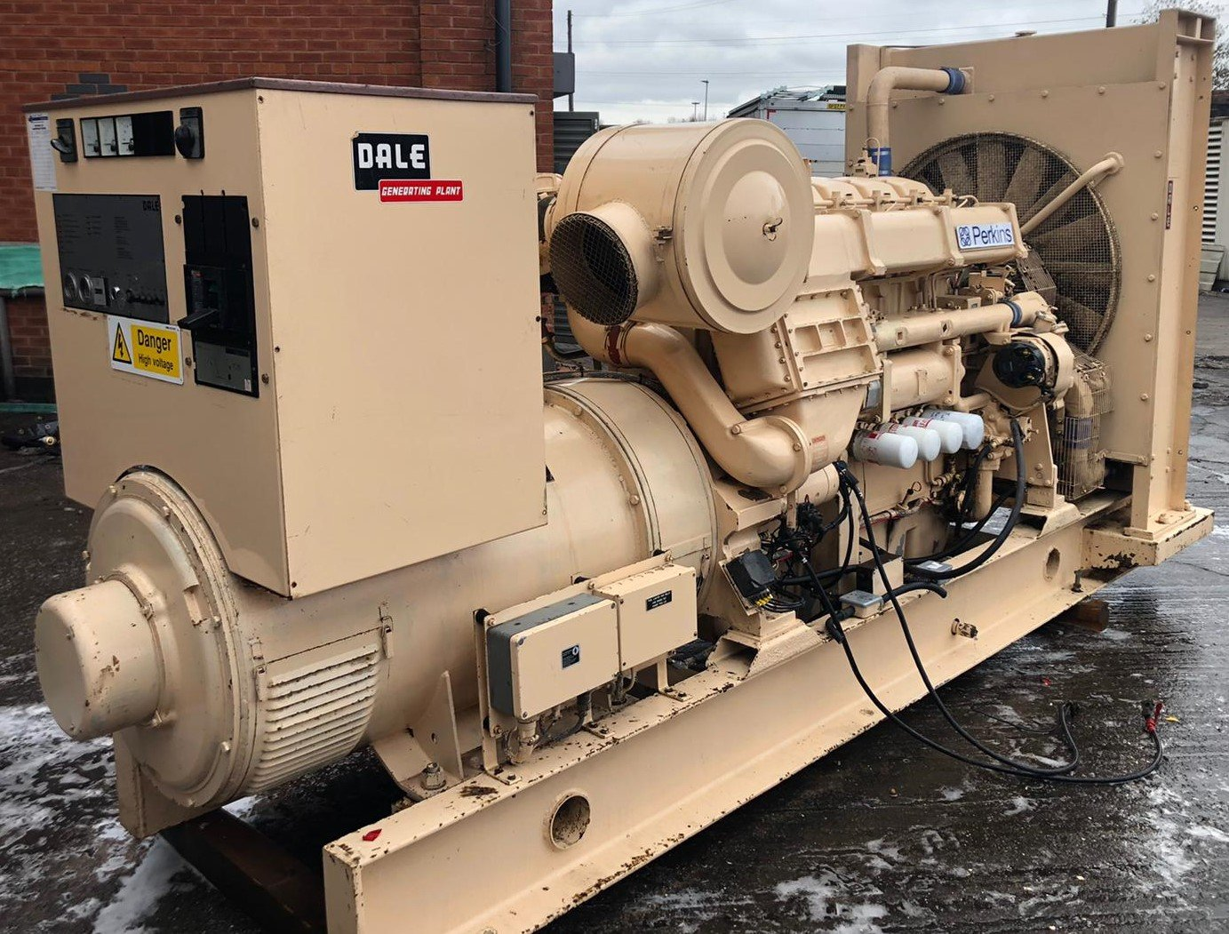 500 kva Perkins/Stamford Open Type Generator for sale