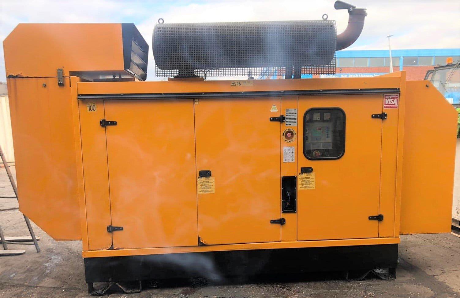 300kva Visa Perkins/Stamford Acoustic generator.