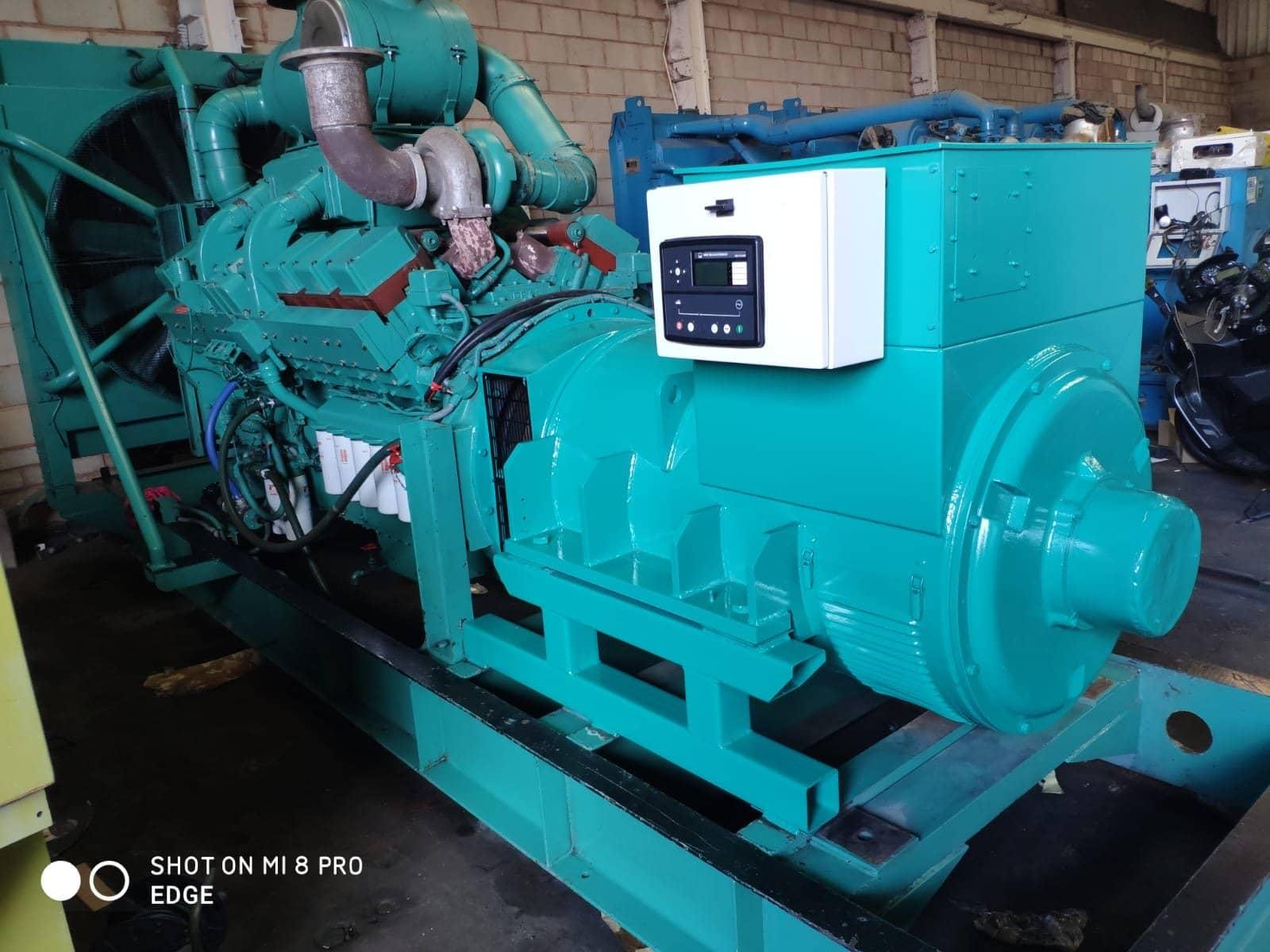 1000 kVA Cummins KTTA-50-G