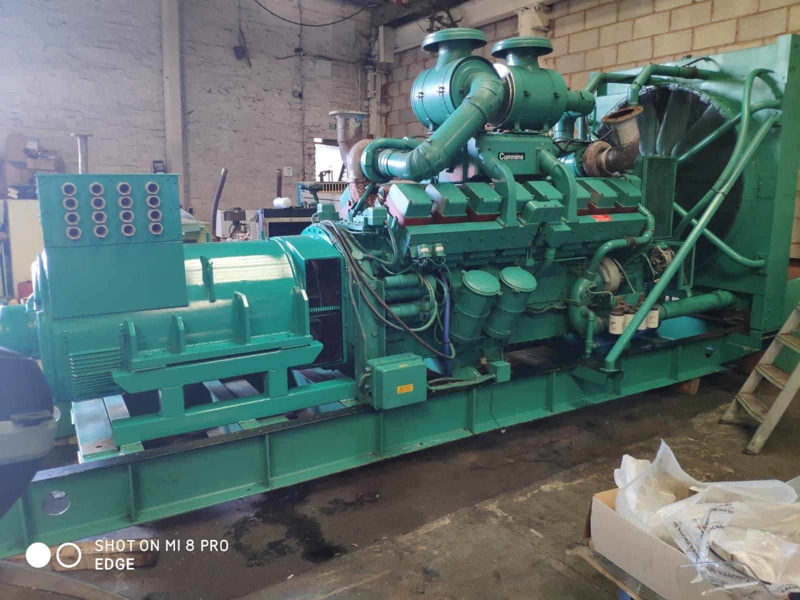 1000 kVA Cummins KTTA-50-G Generator