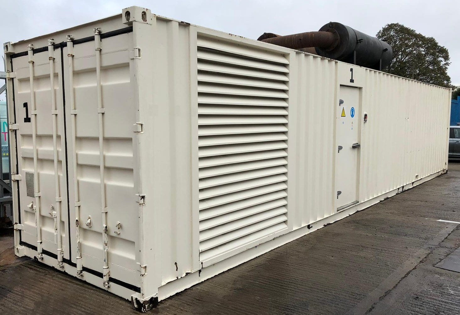 1000 kVA Cummins KTTA-50-G Generator Fitted in a 40ft Acoustic Container