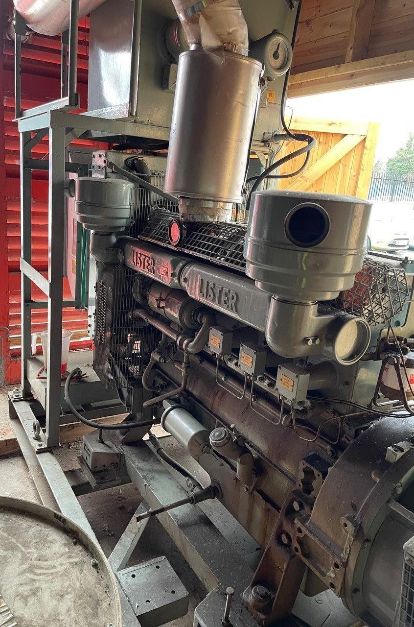 72 kVA Lister/ECC Open Type Generator for sale