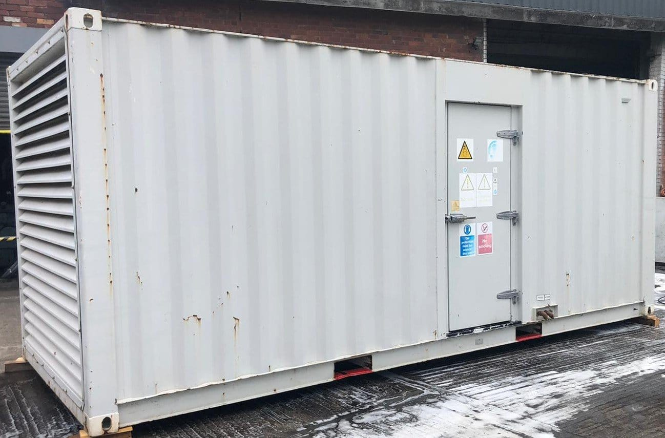 800 kVA FG Wilson, Perkins/Stamford Generator fitted in a 20ft Acoustic container