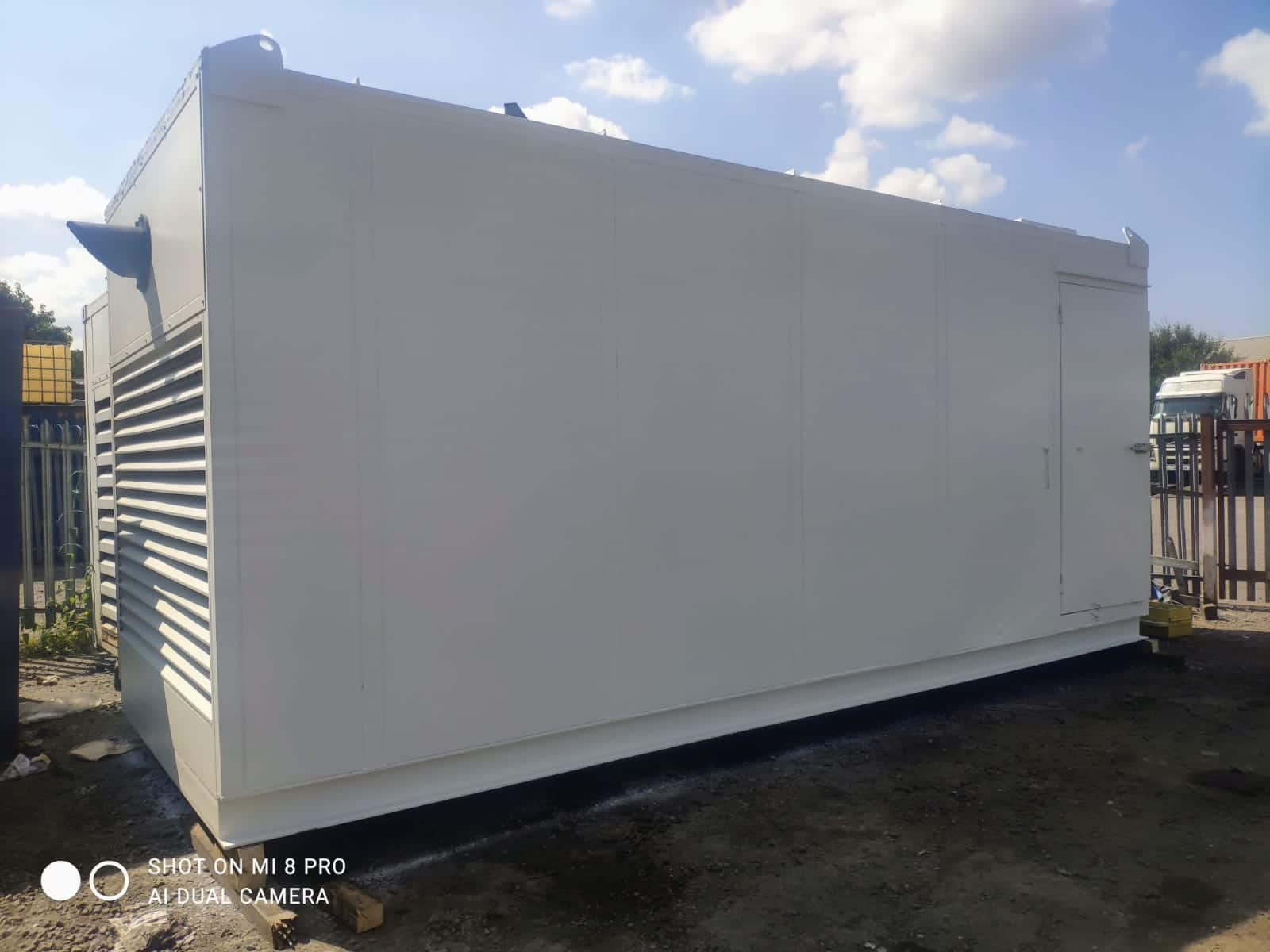 500 kVA FG Wilson Perkins/Leroy Generator fitted in a 20ft Acoustic Container