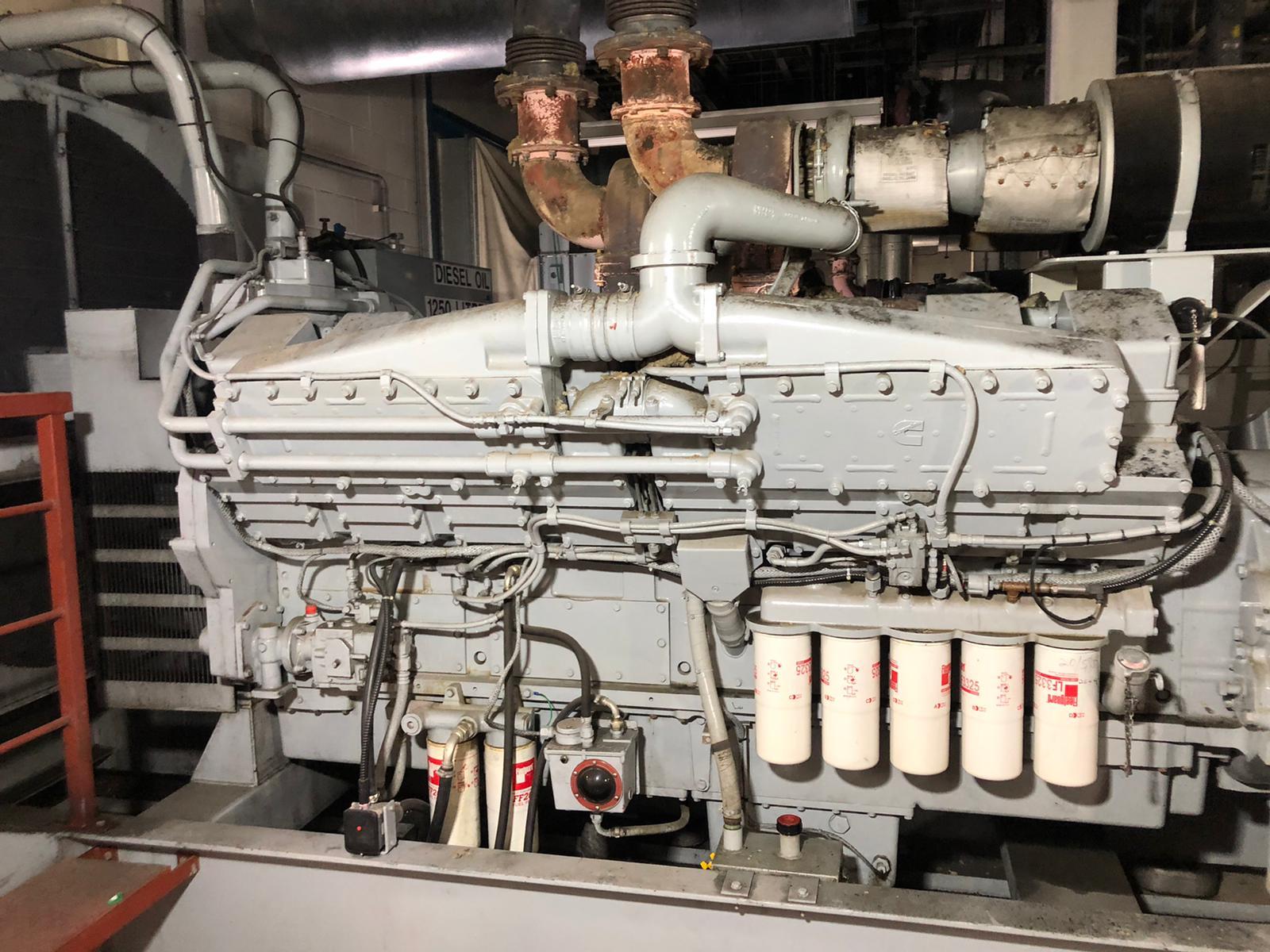 buy 1500 kVA KTA50-G4 Cummins/Stamford Open Type Generator