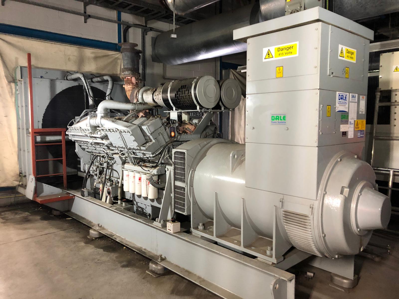 1500 kVA KTA50-G4 Cummins/Stamford Open Type Generator 2