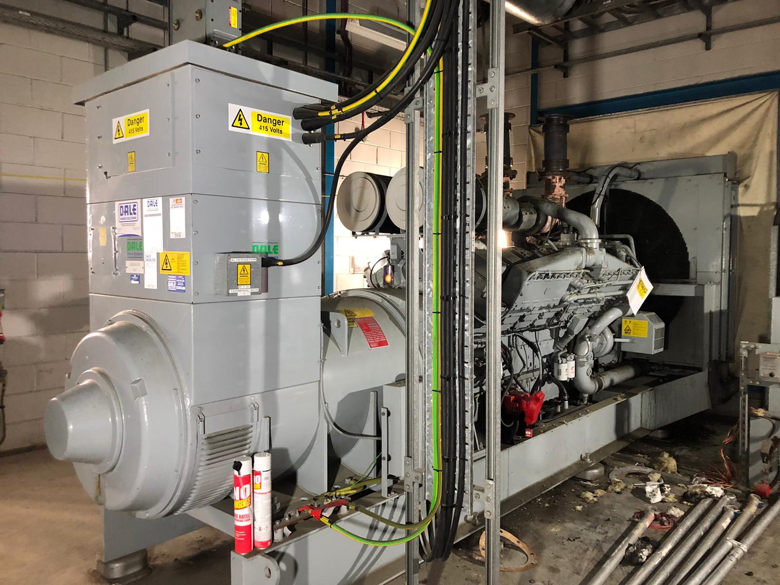1500 kVA KTA50-G4 Cummins/Stamford Open Type Generator for sale