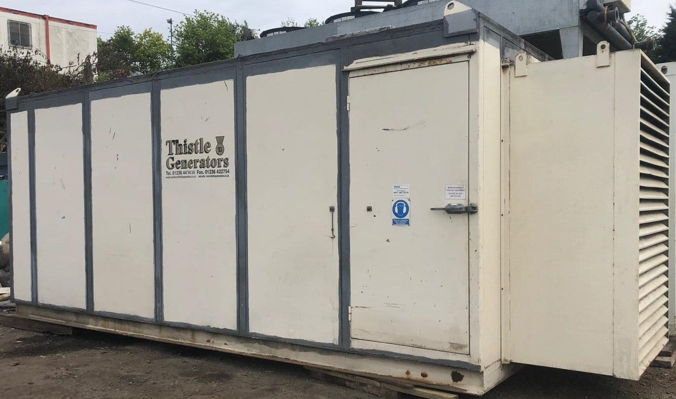 500 KVA FG Wilson Perkins/Leroy fitted in a 20ft Acoustic Container 2