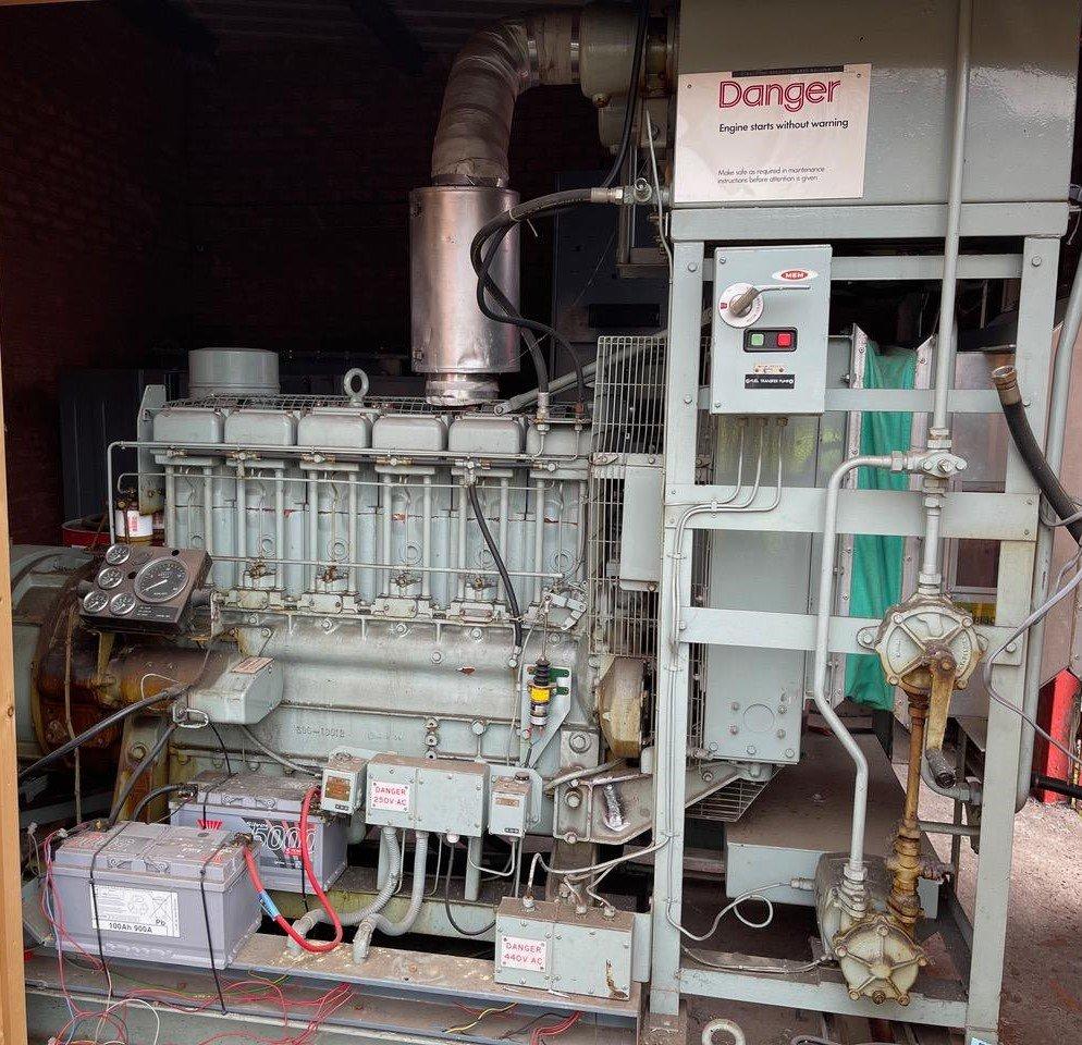 72 KVA Lister/ECC Open Type Generator