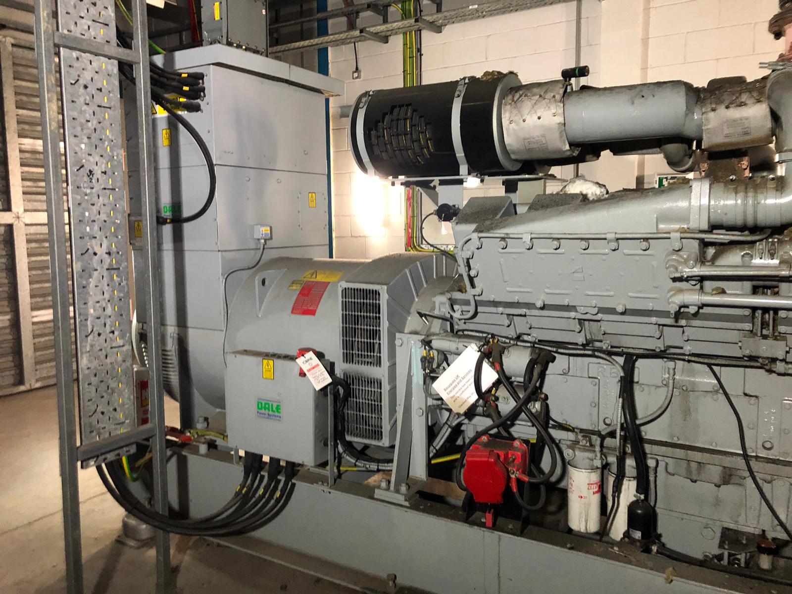 1500 kVA KTA50-G4 Cummins/Stamford Open Type Generator 4