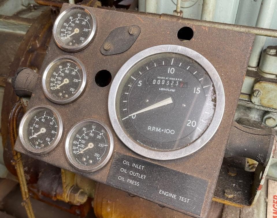 72 KVA Lister/ECC Open Type Generator dials