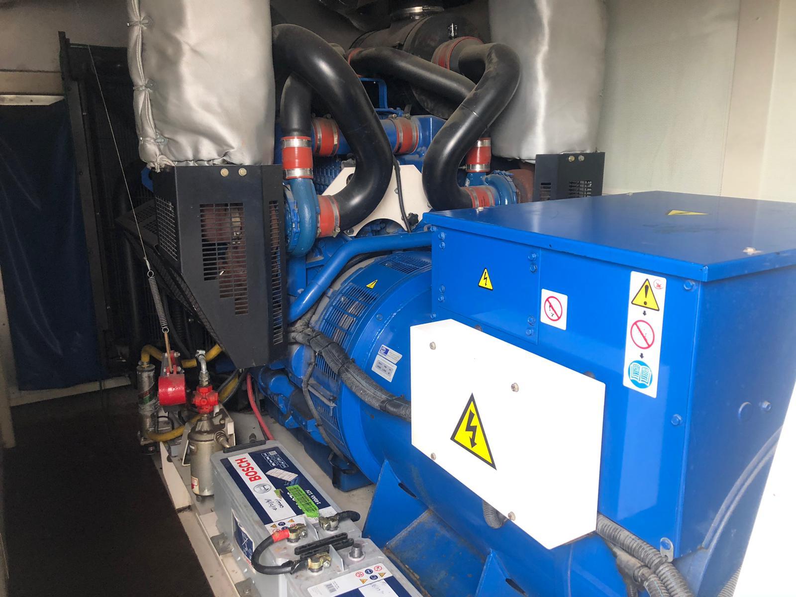 500 KVA FG Wilson Perkins/Leroy Generator