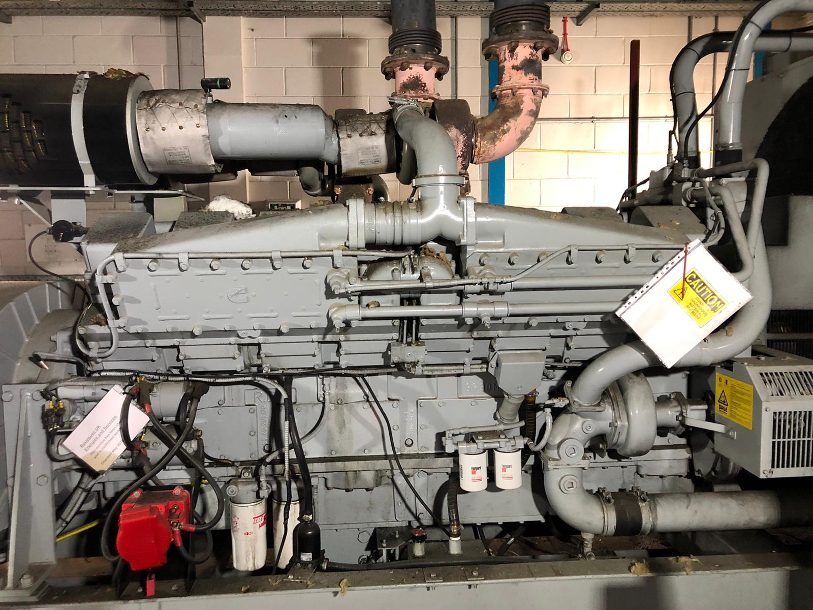 1500 kVA KTA50-G4 Cummins/Stamford Open Type Generator 5