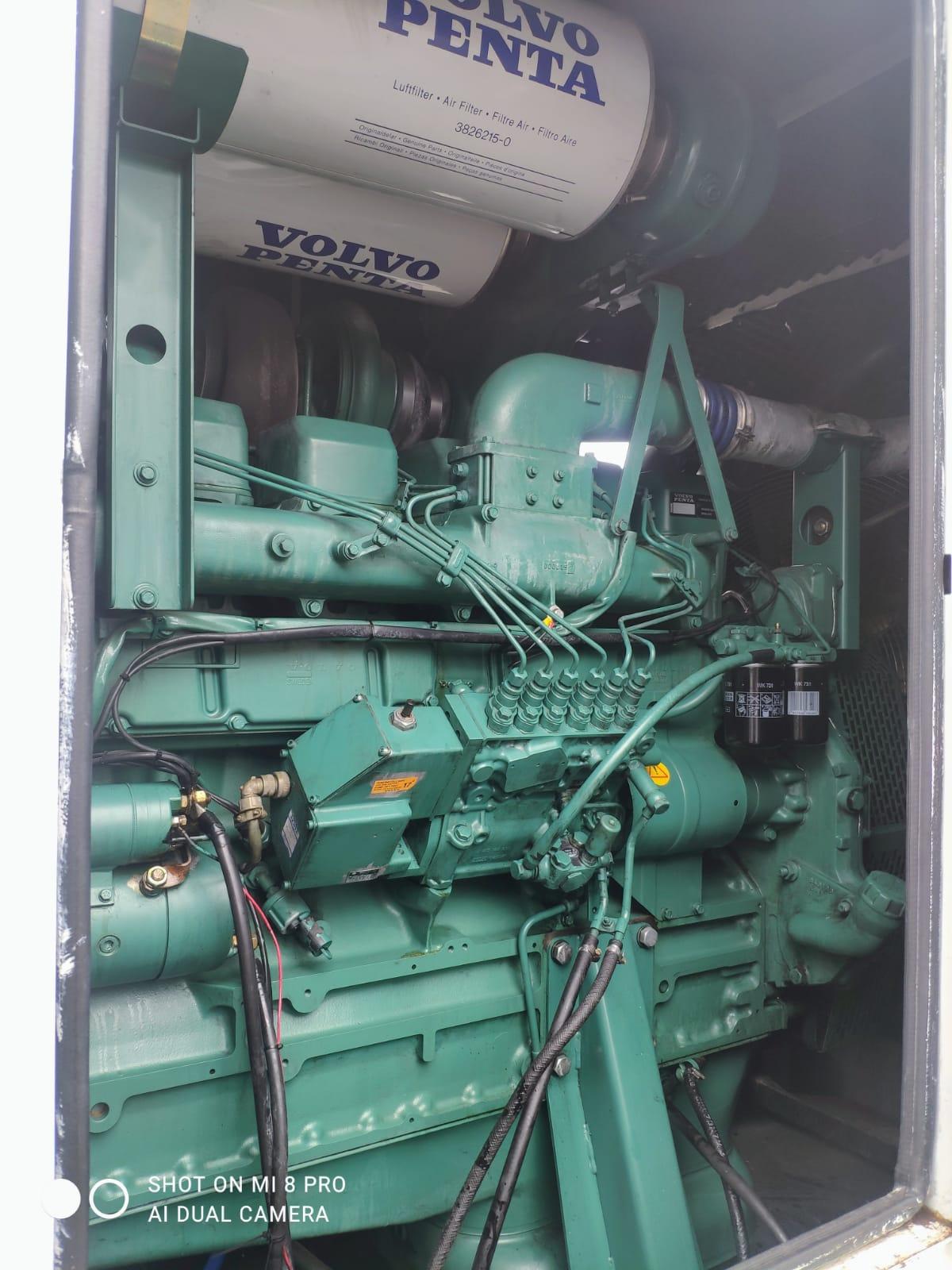 500 kVA Volvo/Stamford Acoustic Generator inside 2
