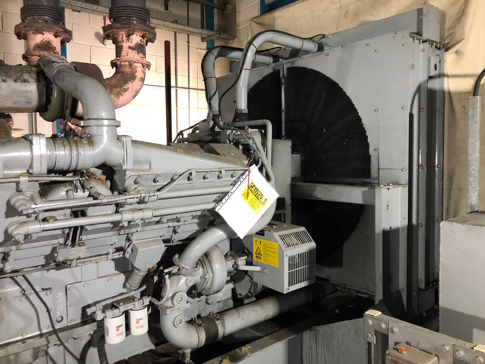 1500 kVA KTA50-G4 Cummins/Stamford Open Type Generator 6