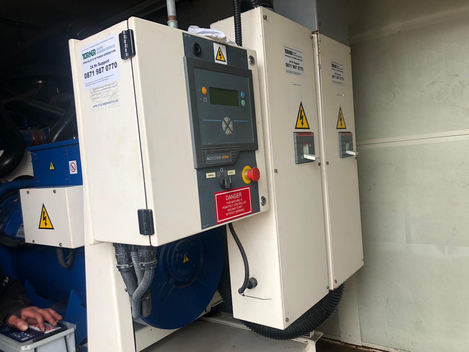 500 KVA FG Wilson Perkins/Leroy panels