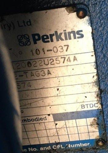 800 FG Wilson, Perkins/Stamford Generator details 2