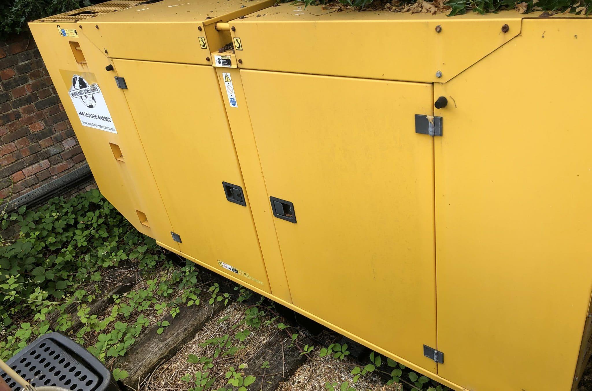200 Kva John Deere/MeccAlte  Aksa Acoustic  Generator for Sale