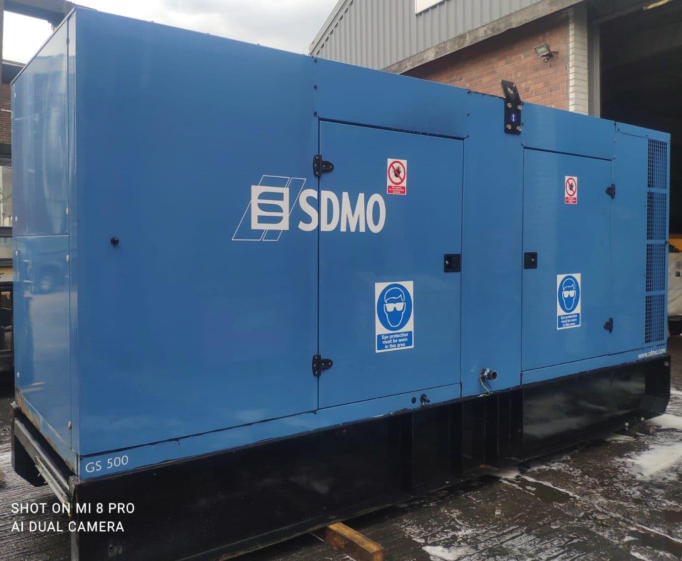 500 kva SDMO Volvo/Leroy Acoustic Generator
