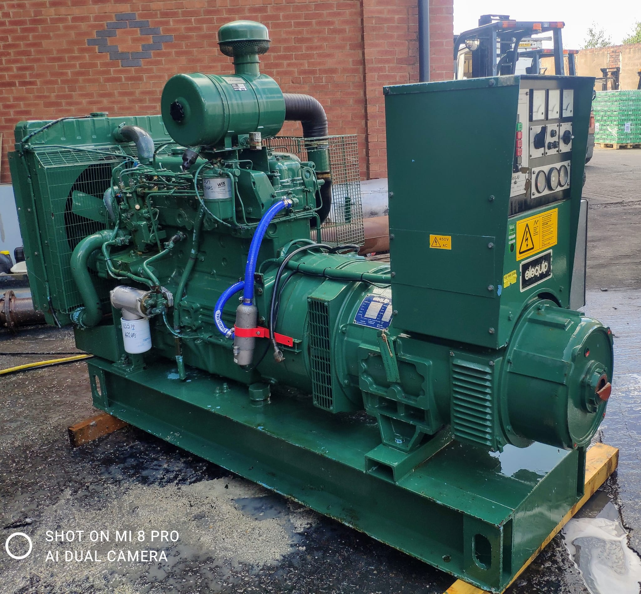 80 Kva  Perkins/Stamford Open Type Generator for sale